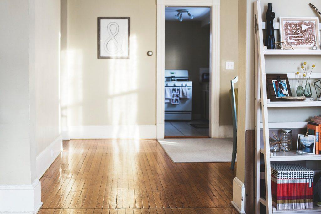 houten vloer kamer